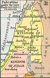Palestine under the later Kings (953-722 B.C.)