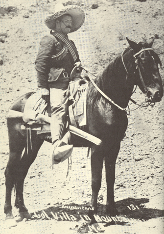 PANCHO VILLA IN MOUNTAINS