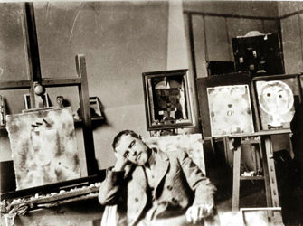 Paul in His Studio