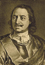 Peter the Great, 1672 - 1725