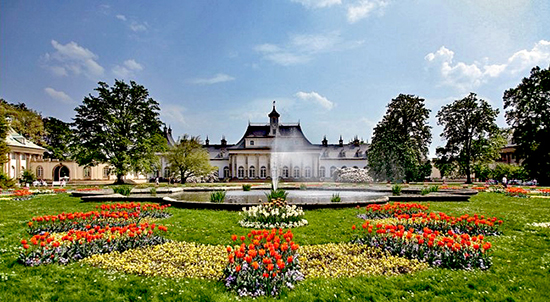 Pillnitz Castle, near Dresden, Germany