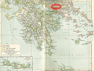 Plataea Map, Ancient Greece