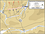 Map of the Battle of Ramillies - May 23, 1706: Marlborough's Pursuit of Villeroi