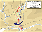 Map of the Battle of Ramillies - May 23, 1706: Marlborough's Breakthrough