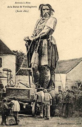 Vercingetorix Returns to Alesia in 1865