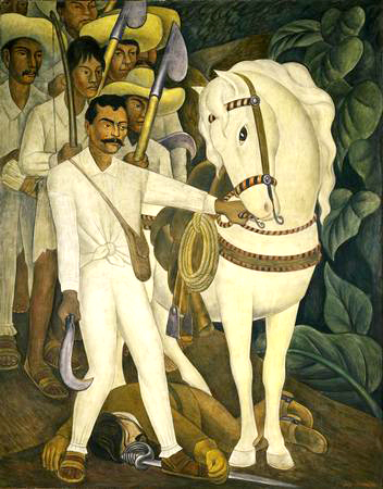 Agrarian Leader Zapata by Diego Rivera, 1931