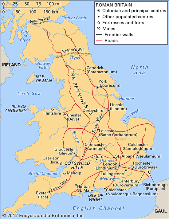 Map Of England And Britain.Historical Maps Of The British Isles