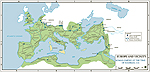 Roman Empire AD 117 - MAP