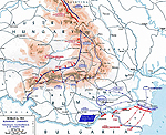 Map of WWI: Romanian Campaign - Sep 19-Oct 25, 1916