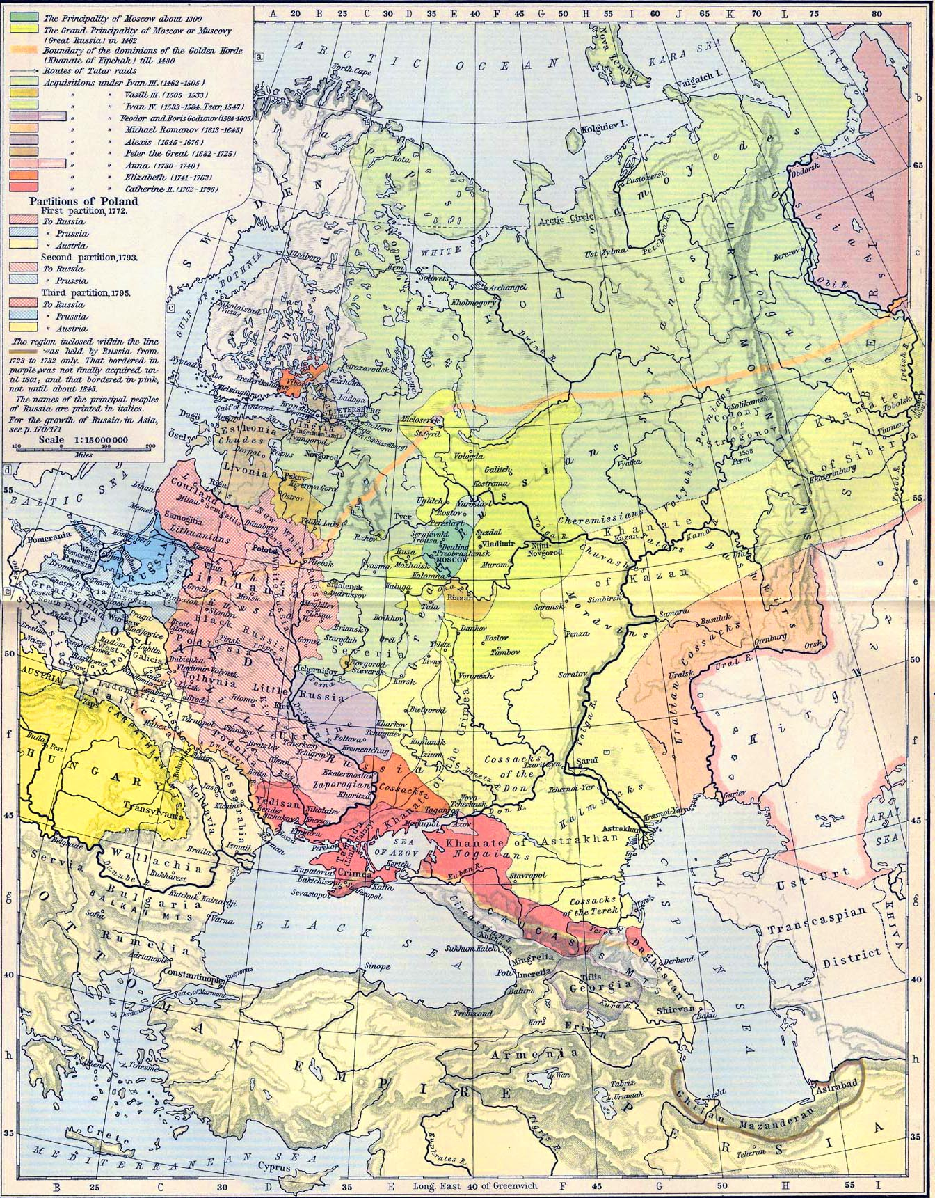Map Of Russia In Europe - Us map 1796