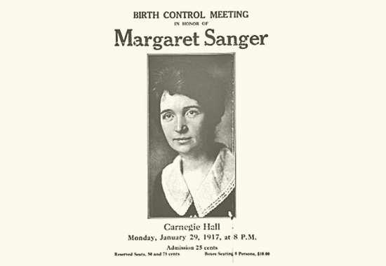 margaret sanger and birth control essay