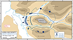 Siege of Alesia 52 BC - MAP