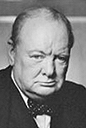 Orator Winston Churchill
