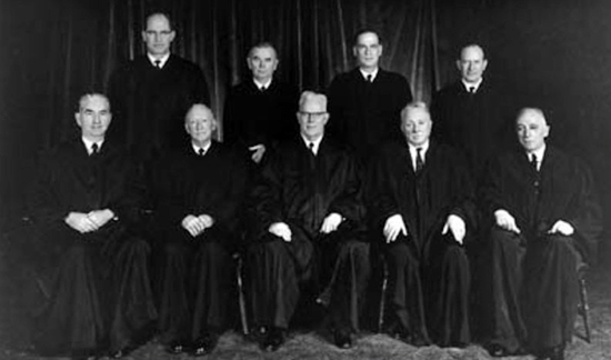 The Supreme Court in 1966, Led by Chief Justice Earl Warren