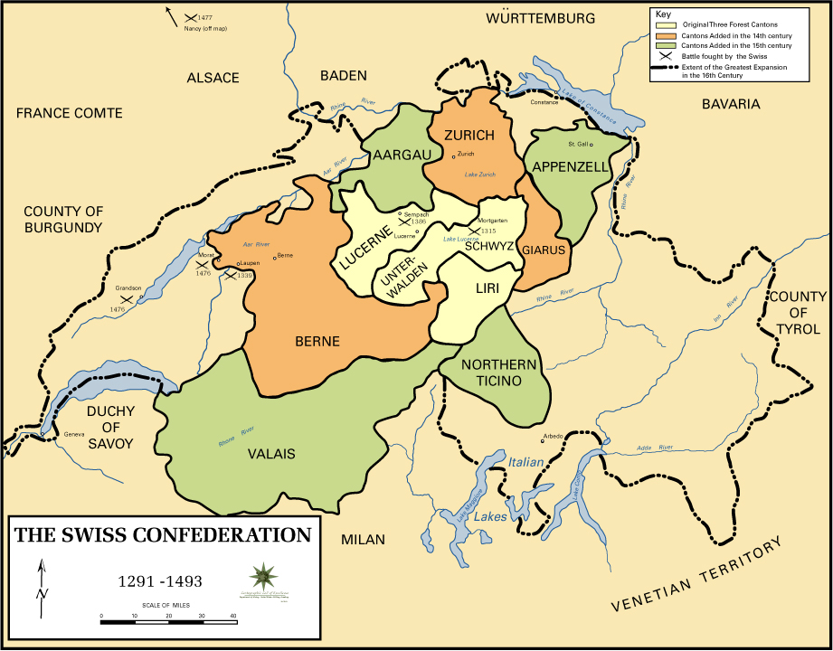 of the Swiss Confederation 1291