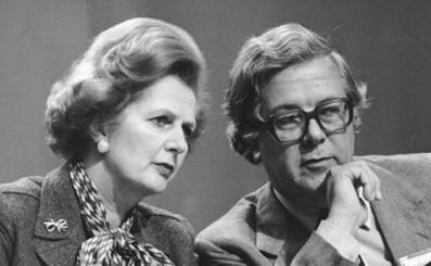 1980 - Those were the days... Thatcher and Howe plotting in unison
