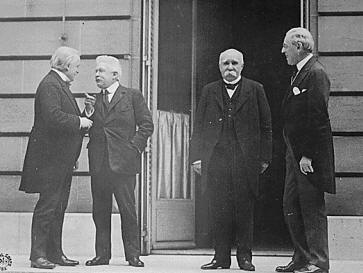The Big Four of Versailles 1919