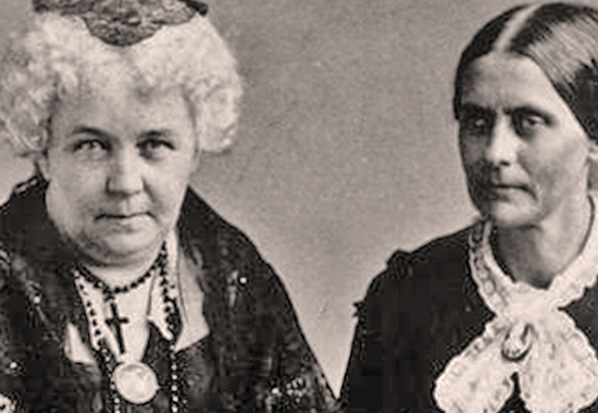 a comparison of elizabeth cady stanton and susan b anthony The papers of susan b anthony and elizabeth cady stanton, two pioneers in the movement for equal rights for women, are now online (national woman's party records, manuscript division, library of congress.
