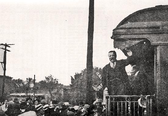 THEODORE ROOSEVELT AT OSAWATOMIE, KANSAS - 1910