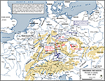 Map of the Thirty Years War: 1630-1632