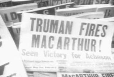 the president trumans decision for dismissing general macarthur history essay Free online library: presidential decisions for war: korea, vietnam, and the persian gulf by presidential studies quarterly history government.