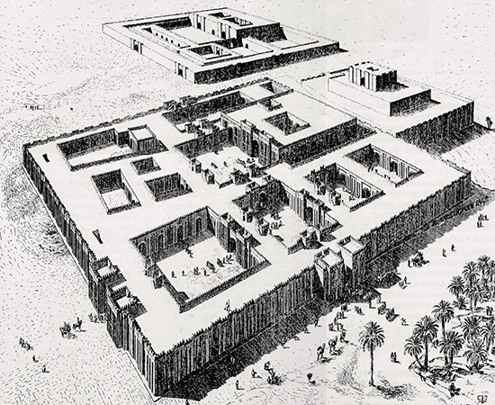 Massive Buildings at Uruk