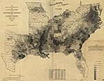 1860 United States Slave Population (Huge Map)