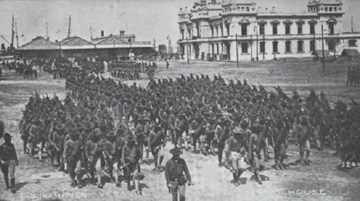 AMERICAN TROOPS IN VERACRUZ - April 21 - November 14, 1914