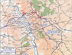 Map of the Battle of Verdun - Feb 21-Dec 18, 1916