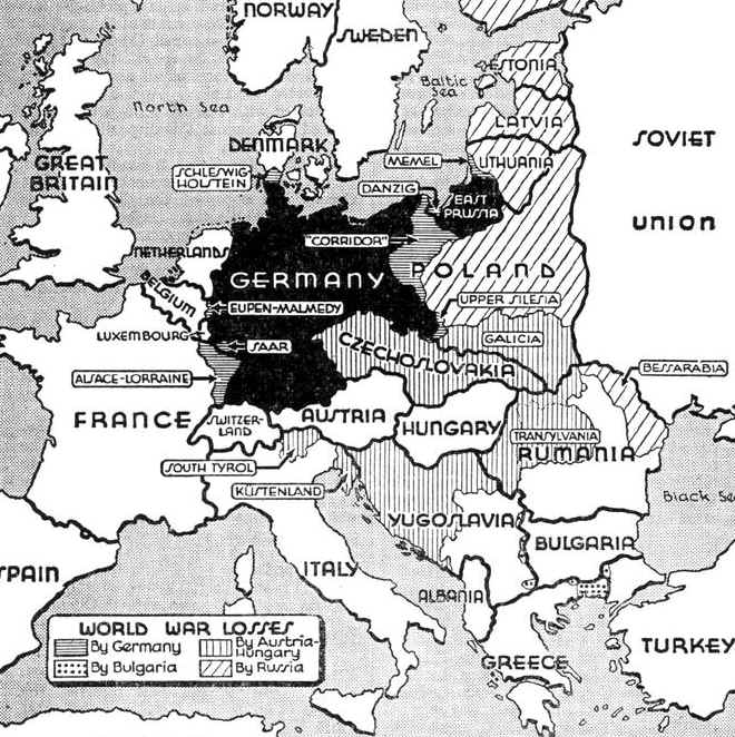 world war 2 map of germany. Map Description World War One