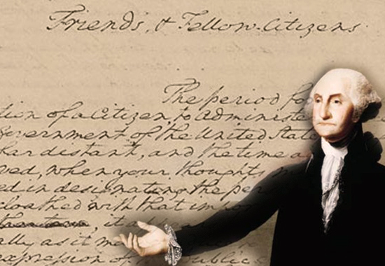 "the inspiring nature of george washingtons farewell address Discover george washington quotes about human nature injustice inspiration inspirational integrity jesus ""washington's farewell address to the."