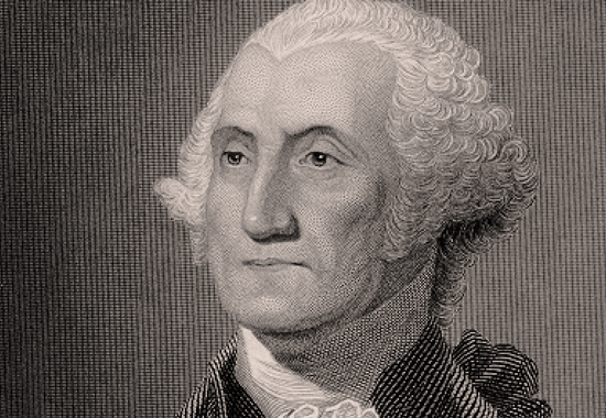 ON TOP OF THINGS - COMMANDER IN CHIEF GEORGE WASHINGTON 1783