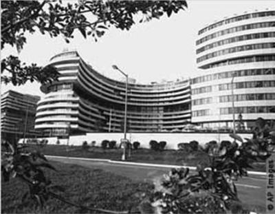 THE WATERGATE COMPLEX IN WASHINGTON IN 1973