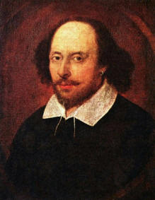 William Shakespeare, 1564 - 1616