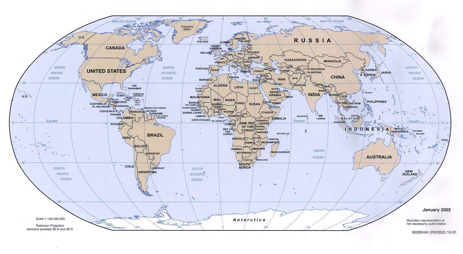Map - World map map