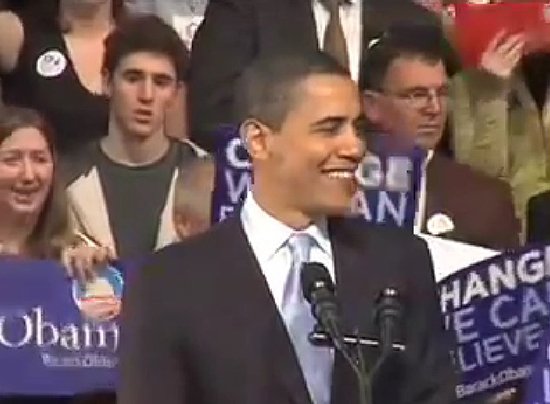 the use of rhetorical strategies in yes we can a speech by barack obama I think that the rhetorical device used the most in the speech would be the presence of anaphora with the refrain yes, we can obama deliberately ensures that this phrase is repeated, doubled.
