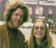 Young Bill and Hillary Clinton Back in the Days