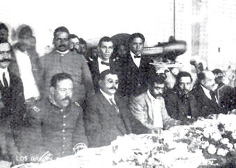 Zapata and Villa in Mexico City